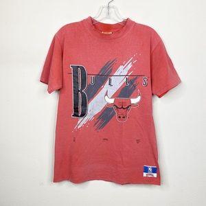 Vintage Chicago Bulls Red Short Sleeve Shirt